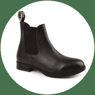 Durham Jodhpur Boots Black