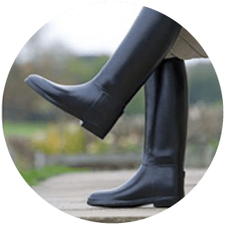 Shires Long Rubber Riding Boot