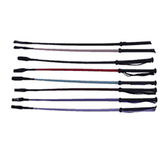 Riding Crop with Plastic Moulded Grip 71cm