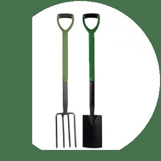 Horiszon Carbon Steel Digging Spade / Fork