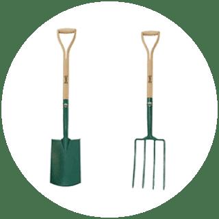 Wilkinson Sword Digging Spade & Fork £12.19 each Icon