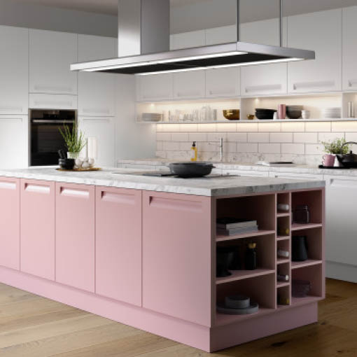 Photo of Affinity Blush and White Kitchen