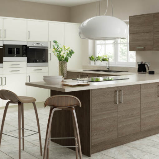 Photo of Brown & Grey Avola Kitchen