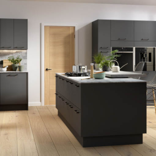 Photo of Vogue Graphite Kitchen