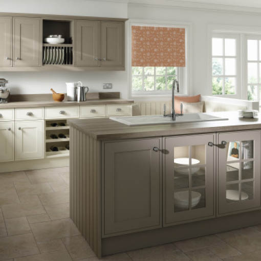 Photo of Davenport Painted Ivory Hickory Kitchen