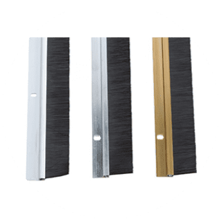 Letterplate Draught Excluder - White, Brown £2.29