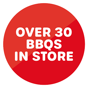 Over 30 BBQs in store