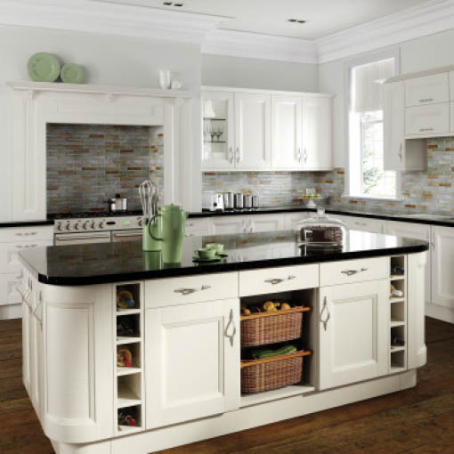 Photo of Richmond Ivory Shaker Kitchen
