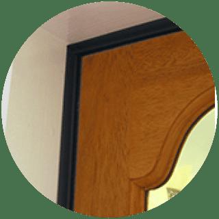 Slikseal 5m Door Set - White, Brown £5.99