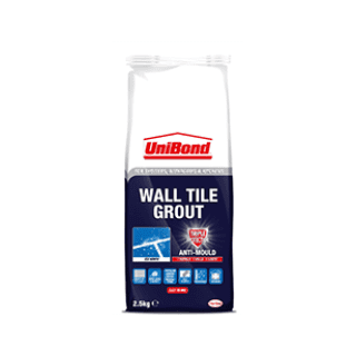 Unibond Anti-Mould WaterProof Tile Grout 2.5kg £3.29