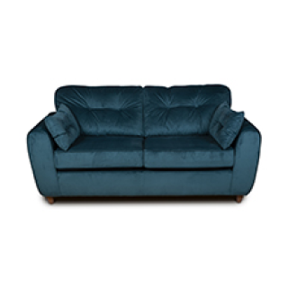 Zone 3 seater sofa in china blue £499.99 icon