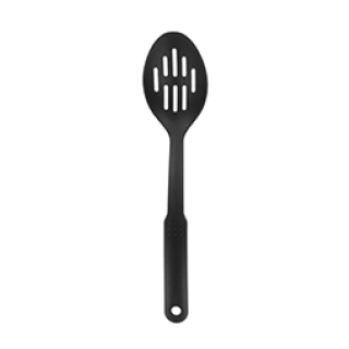 Chef Aid nylon black slotted spoon £1.49 Icon