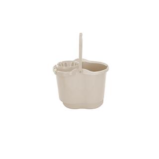 Mop Bucket & Squeezer (Taupe)