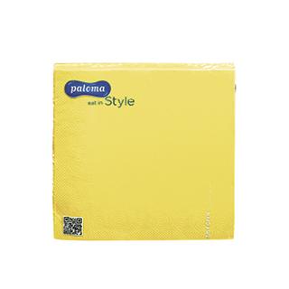 Napkins 20x3ply yellow £0.99 Icon