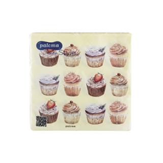 Napkins 50x2ply cupcakes £1.49 Icon