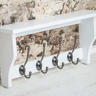 Single Hook & Shelf Units