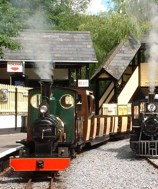 Steam Trains at Trago Newton Abbot