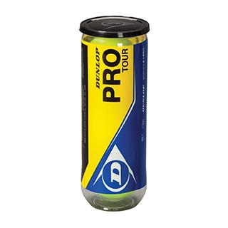 Dunlop Pro Tour Tennis Ball 3pk Tube