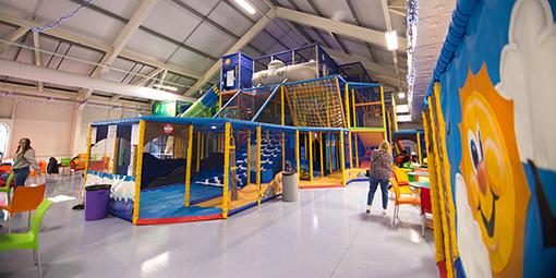 Photo of Play Zone at Merthyr Tydfil