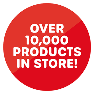 Over 1500 products in store