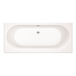 Pandora 1700mm x 750mm Curved Double Ended Bath