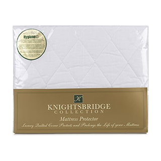 'Knightsbridge Gold' collection quilted mattress protector