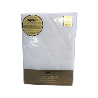 'Knightsbridge Gold' quilted pillow protector