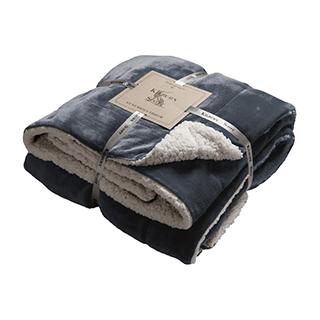 Sherpa Throw 152 x 177cm Grey