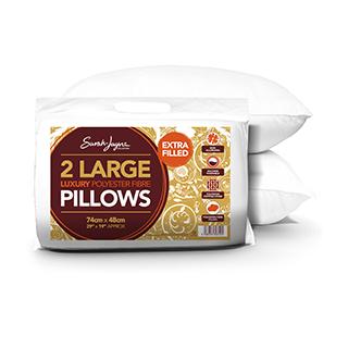 Sarah Jayne Extra Pillow Pair