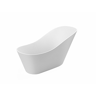 Farleigh Freestanding 1670mm Slipper Bath (0TH With Integrated Waste)