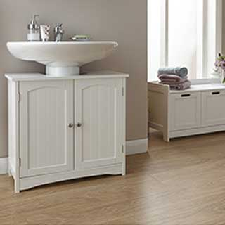 Colonial Bathroom Furniture Range