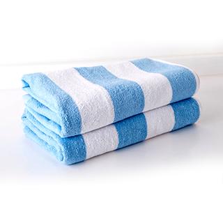Light Blue Pool Towel