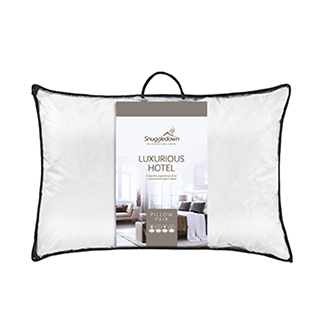 Luxurious Hotel Pillow pair hypo allergenic, washable
