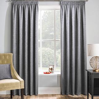 Matrix Grey Curtain 46 x 54