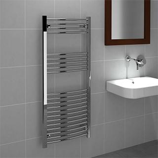 Prorad Curved Towel Rail 500mm - 750mm, 1200mm & 1800mm
