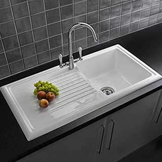 Reginox 1 Bowl Sink and Tap Pack