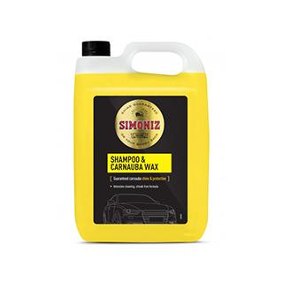 Simoniz Wash & Carnuba Wax 5 Litre