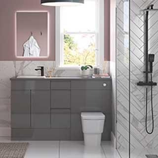 Valesso & Alba Modular Bathroom Furniture