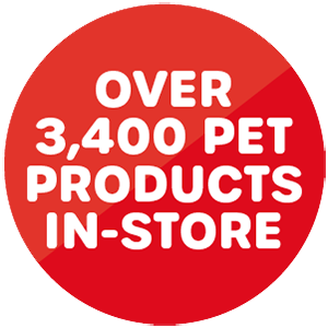 3,400 Pet Products