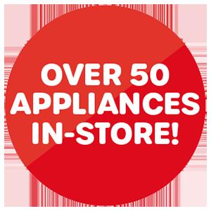 50 appliances