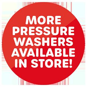 More pressure washers