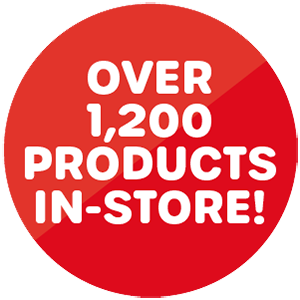 Over 1,200 products