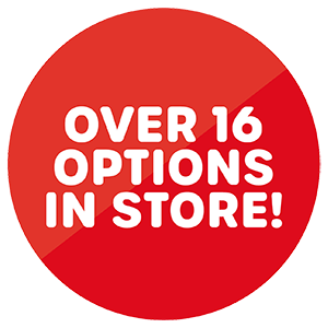Over 16 options