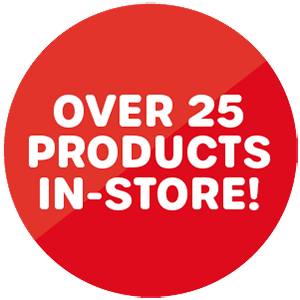 Over 25 products