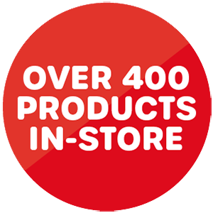 Over 400 Products
