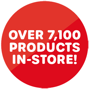 Over 7,100 products