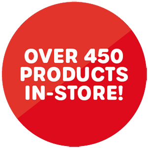 Over 450 products