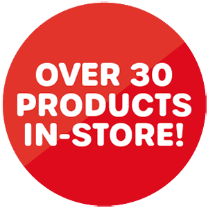 Roundel over 30 products in store