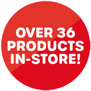 Over 36 Products