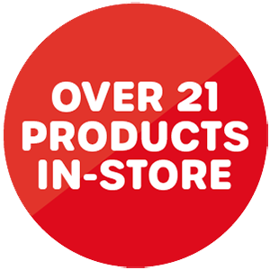 Over 21 products